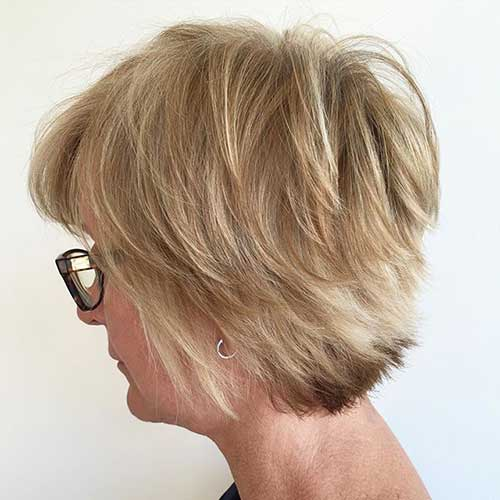 20 Short Hair Cuts For Older Women