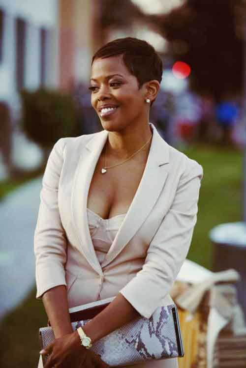 Short Hair Cuts for Black Women-18