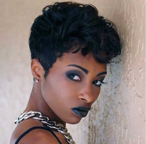 Short Hairstyles for Black Women 2015-18