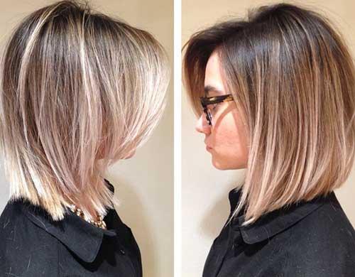19.Short Hair Highlights 2015