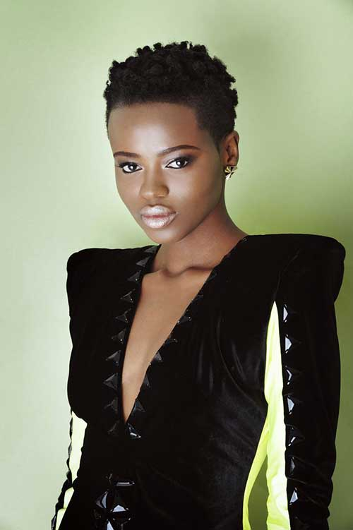 Short Hair Cuts for Black Women-19