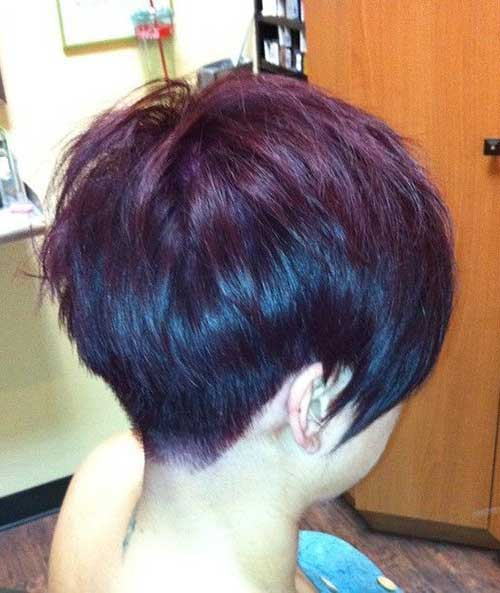 Short Layered Hair Styles-19