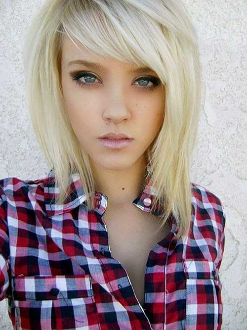 Short Length Hair Styles-19
