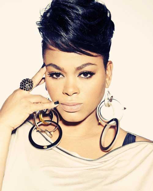 20.Short Hair for Black Women