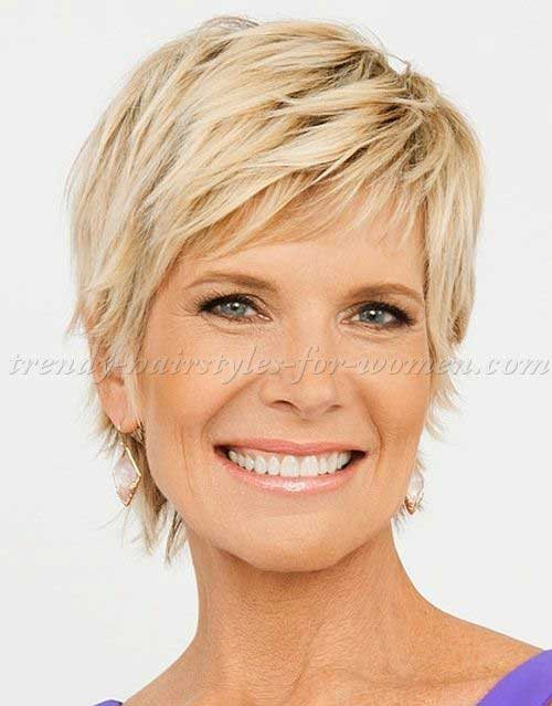 Short Hair Styles For Women Over 50-21