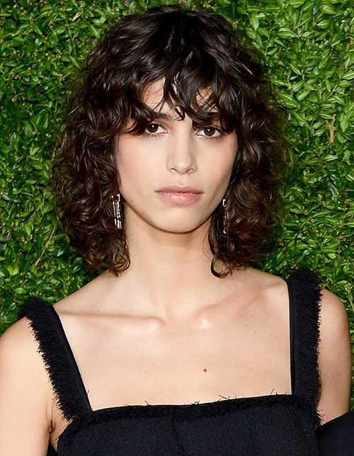 21.Short Haircut for Curly Hair