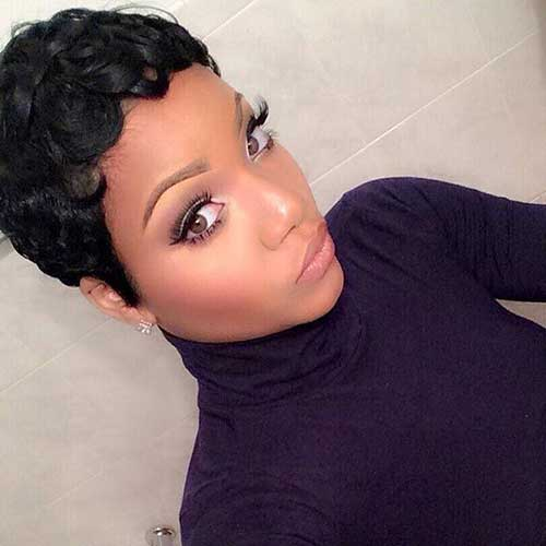 Short Hairstyles for Black Women 2015-21