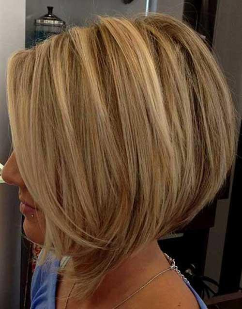 22.Hair Color for Short Hair