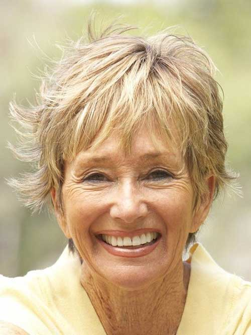 Short Hair Styles For Women Over 50-22