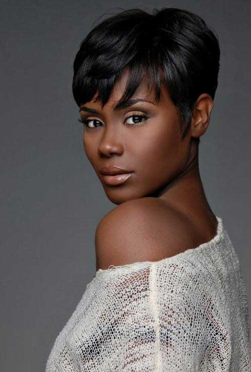 22.Very Short Hairstyle for Black Women
