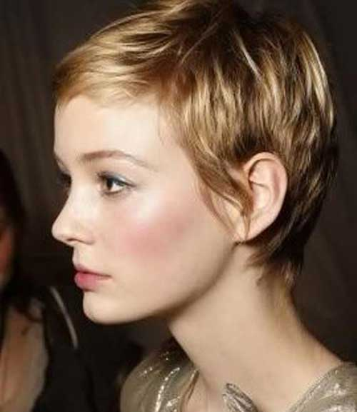 Hair Colors for Short Hair-23