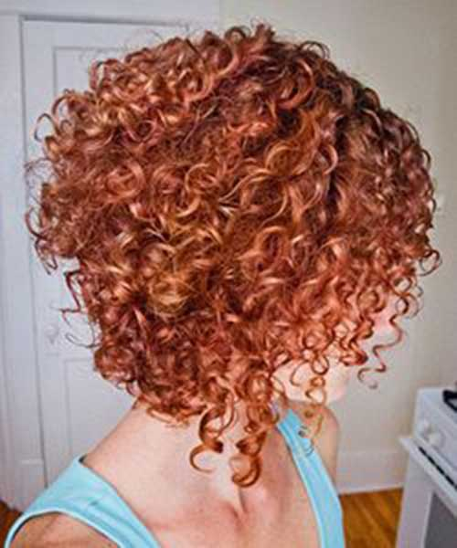 Short Red Curly Hair-24