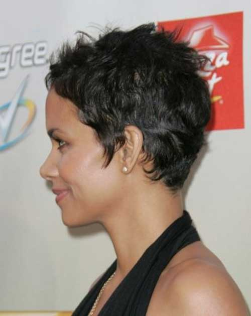 24.Very Short Hairstyle for Black Women