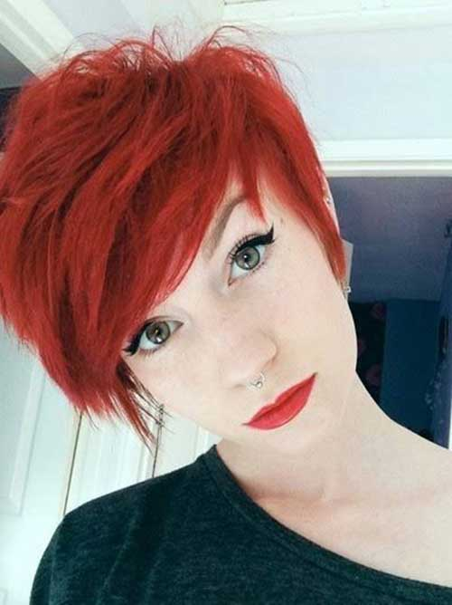 Hair Colors for Short Hair-26