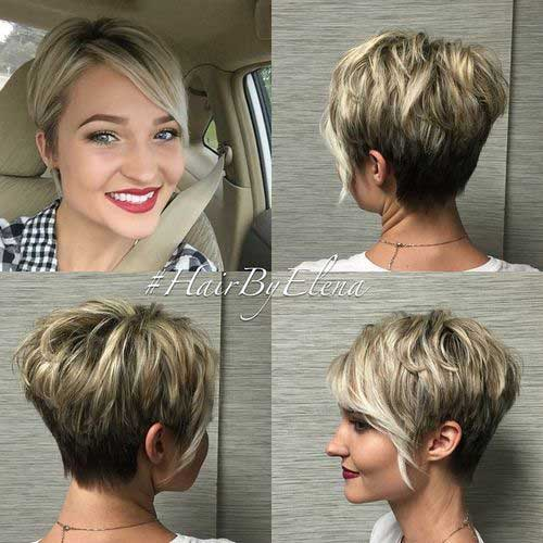 Hair Colors for Short Hair-30