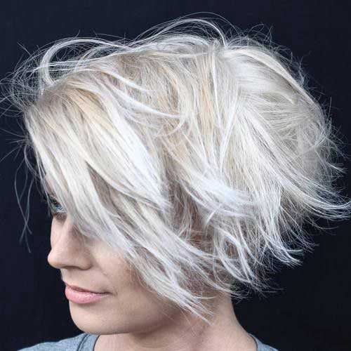 31.Hair Color for Short Hair