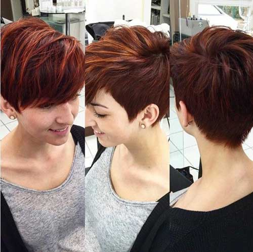 Hair Colors for Short Hair-32