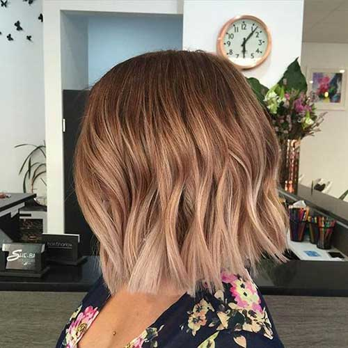 Hair Colors for Short Hair-33
