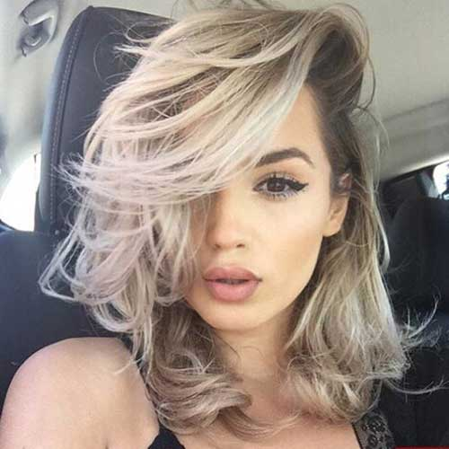 37.Hair Color for Short Hair