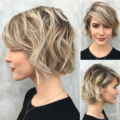 Hair Colors for Short Hair-40