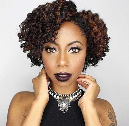 Short Curly Hair for Black Women-6