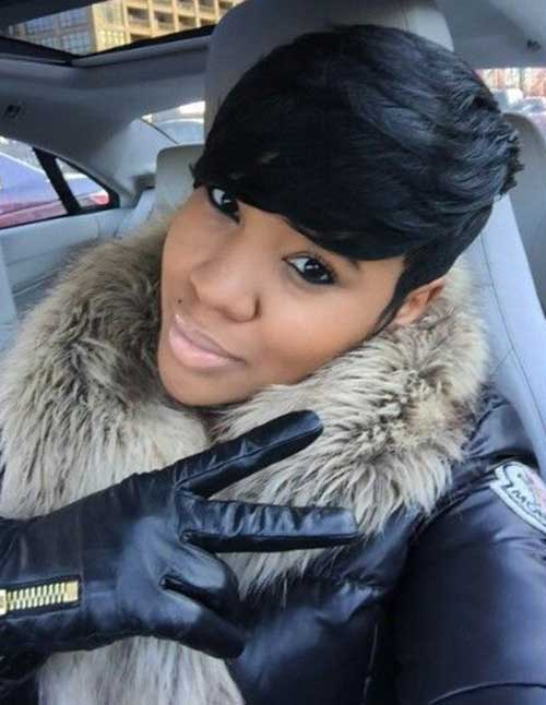 Short Hair Cuts for Black Women-6