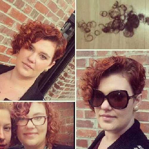 Short Hairstyles for Curly Hair 2015-6