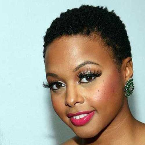 6.Very Short Hairstyle for Black Women