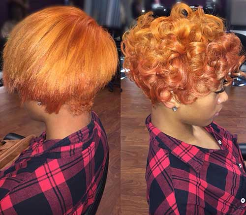 Short Curly Hair for Black Women-7