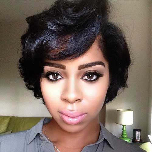 Short Hair Cuts for Black Women-7