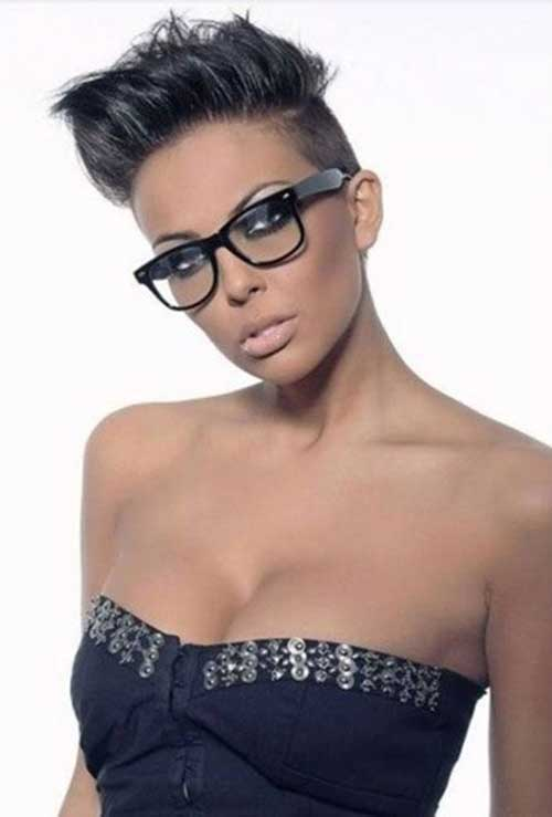 7.Very Short Hairstyle for Black Women