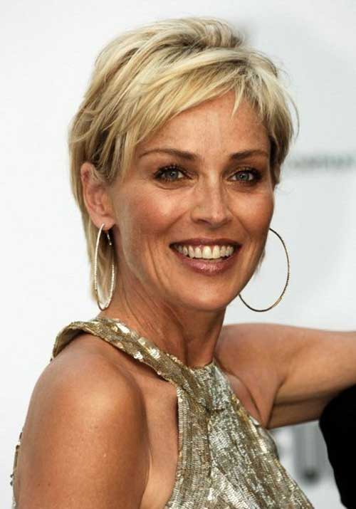Short Hair Styles For Women Over 50-8