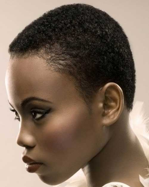 how to style african american short hair 25 hairstyles for black 1122 | 8.Very Short Hairstyle for Black Women