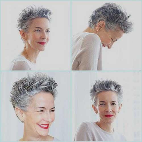 Short Hair Older Women