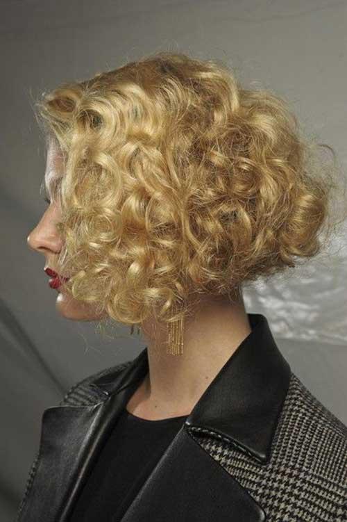 Curly Perm Short Hair