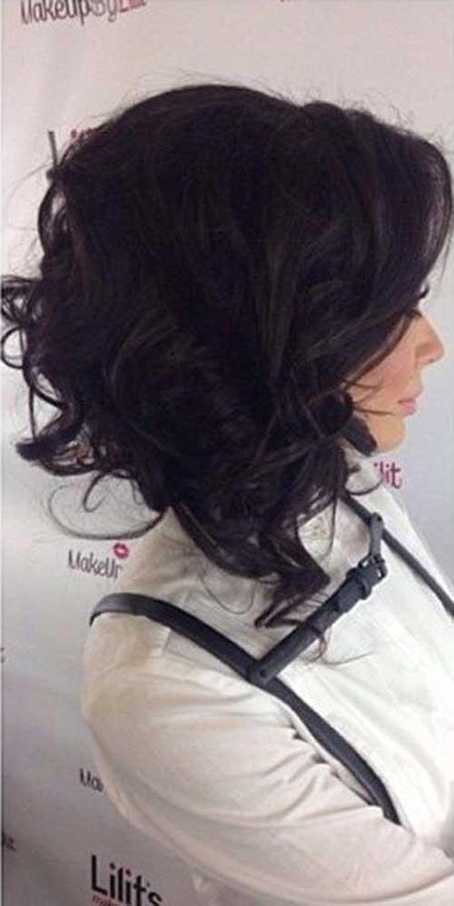 Curly Short Hair 2015