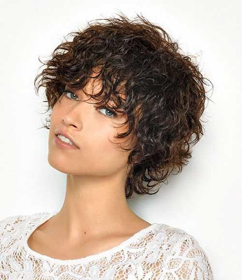 Curly Short Haircuts 2016