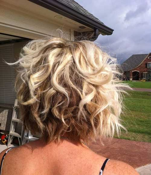 Haircuts for Short Curly Hair 2015