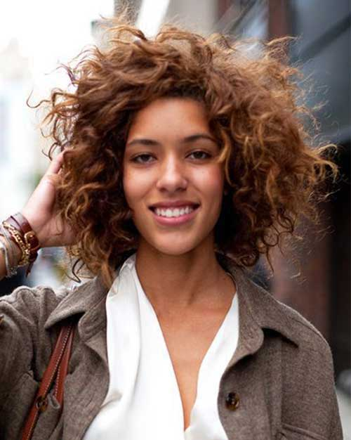 Short Curly Hairstyle 2015
