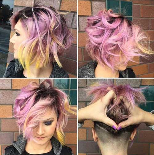 Short Hair with Color