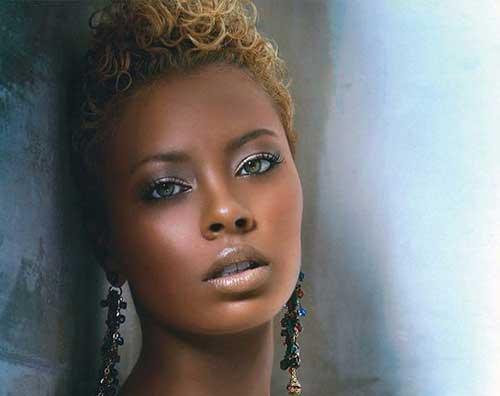Astounding 25 Very Short Hairstyles For Black Women Short Hairstyles Hairstyles For Women Draintrainus