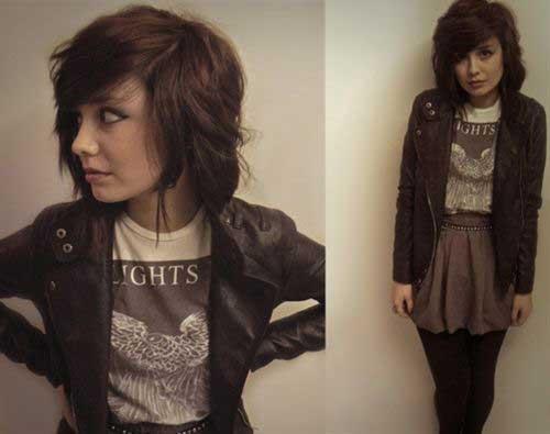 Brown Short Haircuts-10