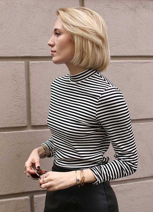 10.Short Hair Style for Girls