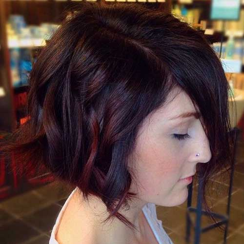 Brown Short Haircuts-11