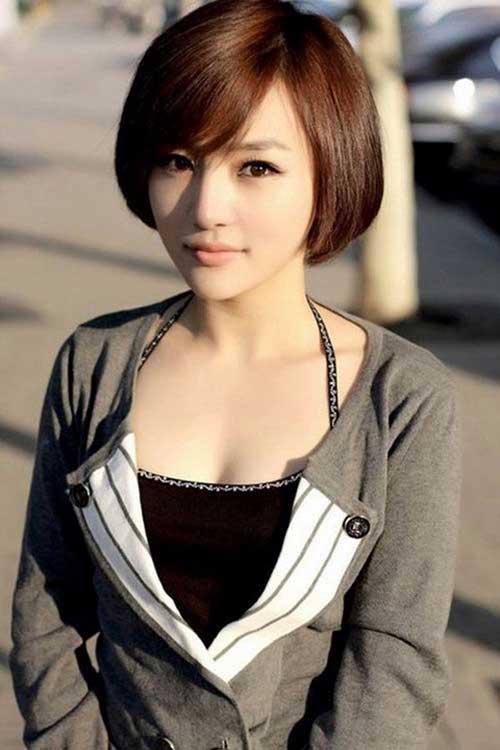 11.Cute Short Hairstyle 2014