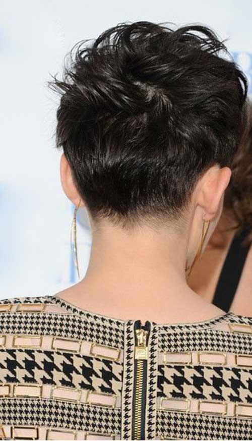 11.Pixie Hair Back View