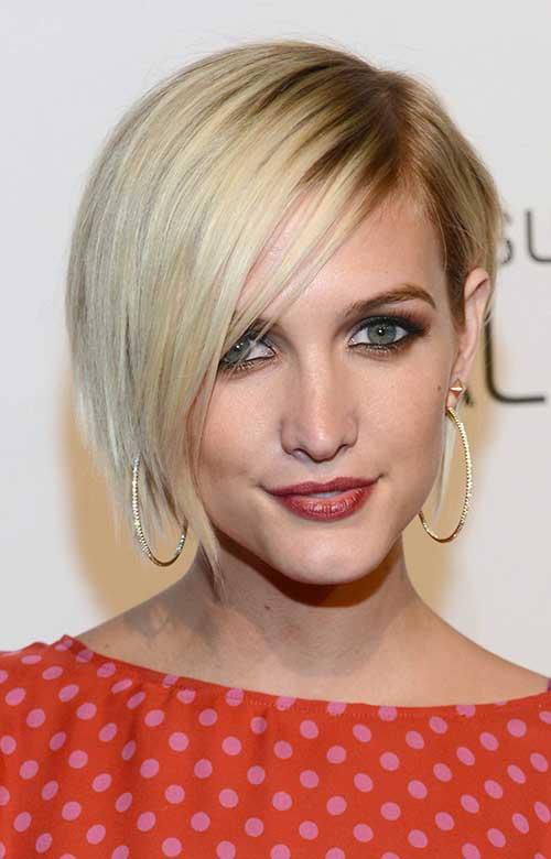 12.Celebrity Short Hair