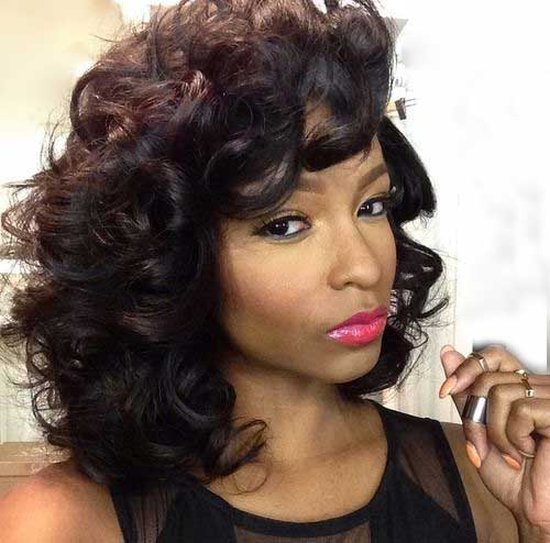 Short Curly Weave Hairstyles-12
