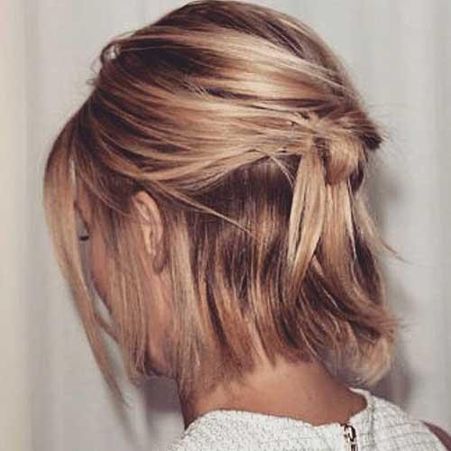 Short Hair Updos-12
