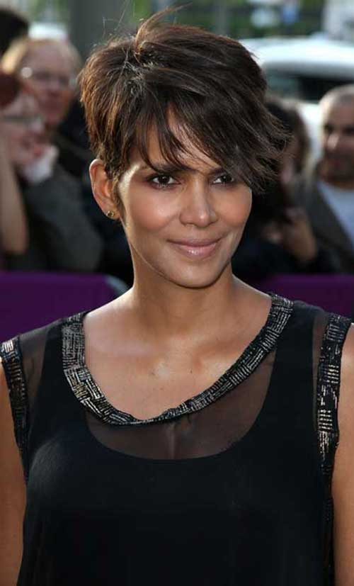 Brown Short Haircuts-13